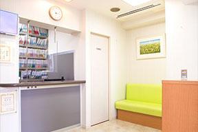 はじめ歯科医院 待合室・受付2